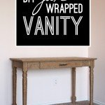 Jute-Wrapped Vanity Makeover