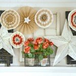 Burlap Star Banners for Fourth of July
