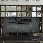 Wall Mirror with Hidden Gun Storage