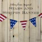 Stars and Stripes 4th of July Banner