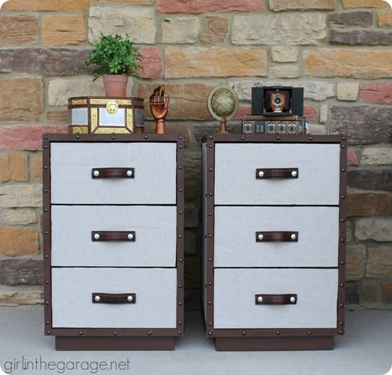 Pottery Barn Knock Off Trunk Nightstands