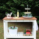 DIY Outdoor Buffet for Entertaining