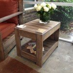 DIY Outdoor Side Table