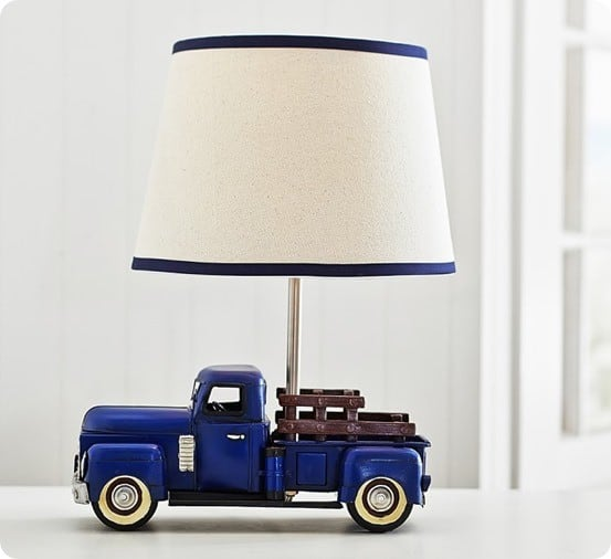 Truck Lamp from Pottery Barn Kids