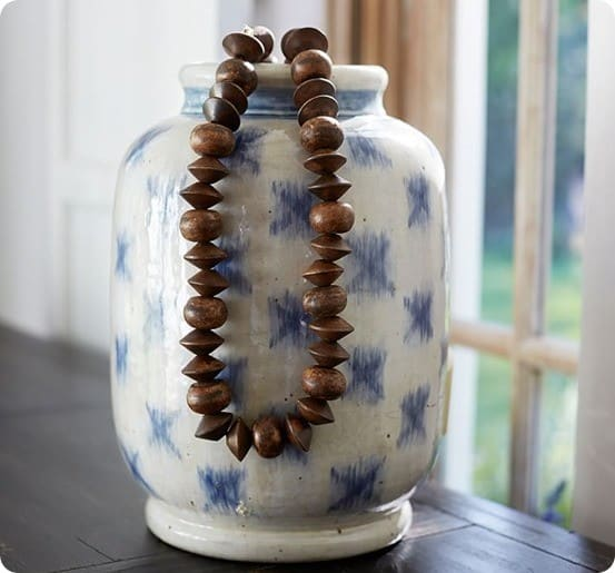 Wood Beads Vase Filler from Pottery Barn