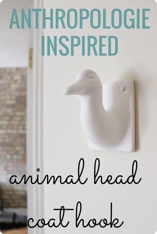 Anthropologie Knock Off Animal Hook