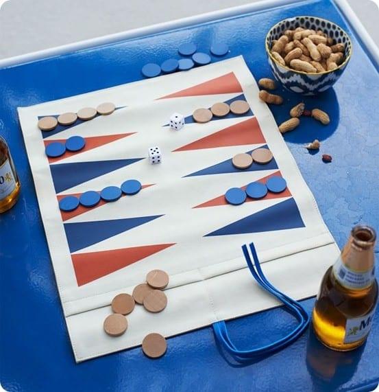 Canvas Backgammon Game