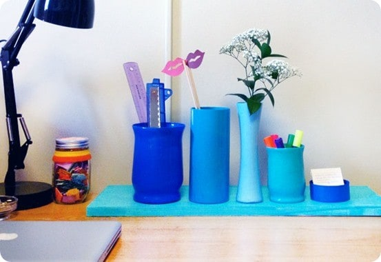 DIY Crafts ~ Anthropologie Inspired Pencil Holder