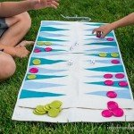 Roll-Up Travel Backgammon Game