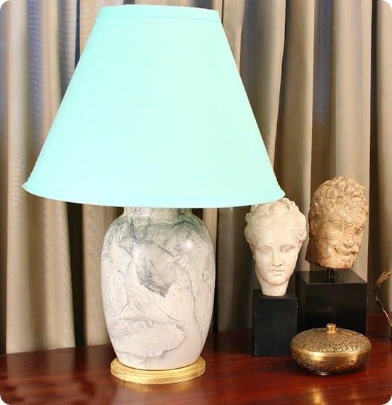 DIY Home Decor ~ DIY Marble Lamp