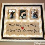 Family Picture Frame with Quote