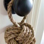 Nautical Rope Knot Doorstop