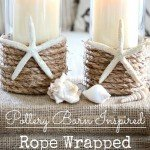 Rope Candle Holders for Summer