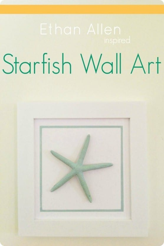 DIY Wall Decor ~ Starfish Wall Art