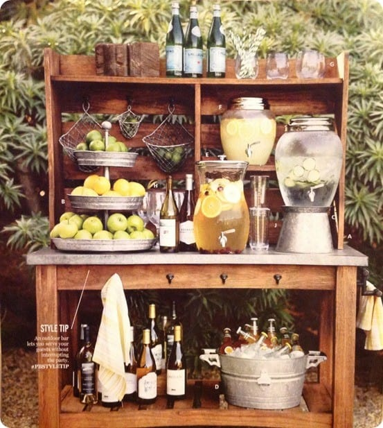 Curbside Pallet To Outdoor Beverage Station
