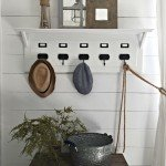 Entryway Organizer with Ledge
