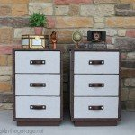 Trunk-Style Nightstand Makeover