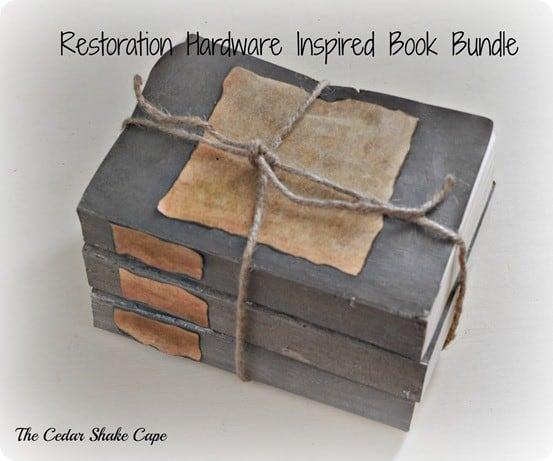 Restoration Hardware Knock Off Book Bundle