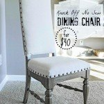 Upholstered Dining Room Chair Makeover