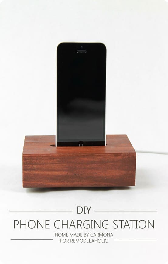 Restoration Hardware Knock Off Phone Charging Station
