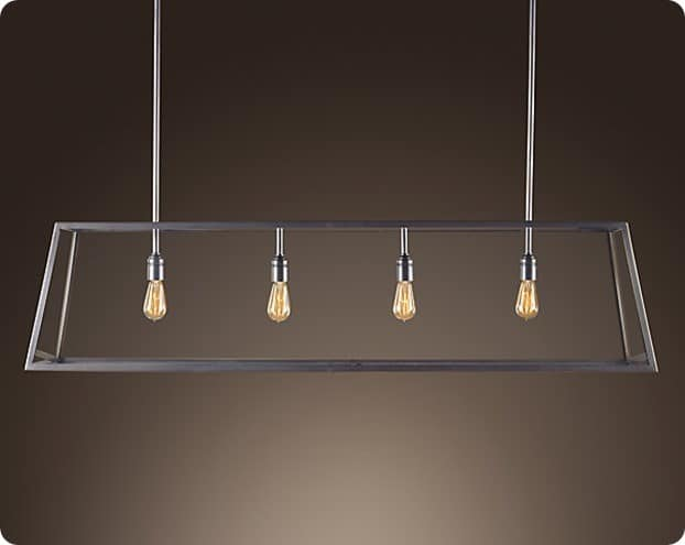 Restoration Hardware Modern Filament Chandelier