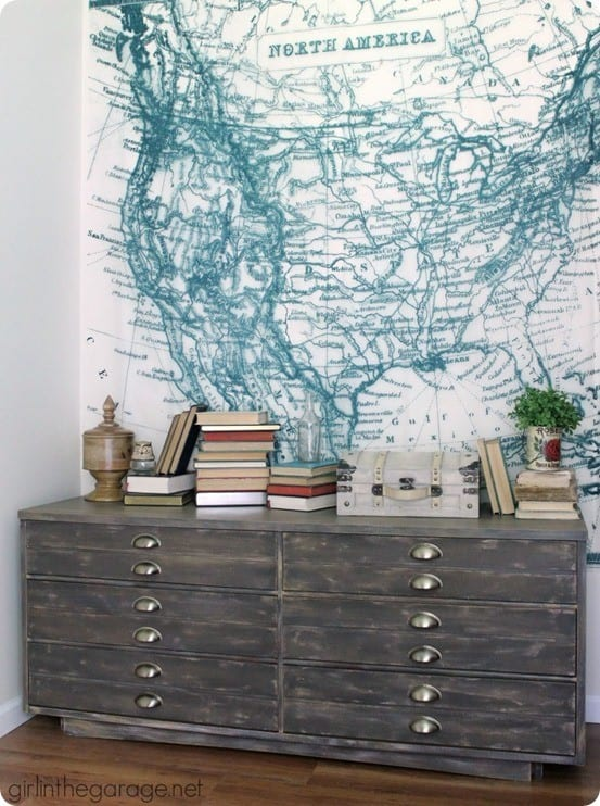 Anthropologie Knock Off Dresser Makeover