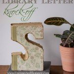 Decorative Letter from Old Book