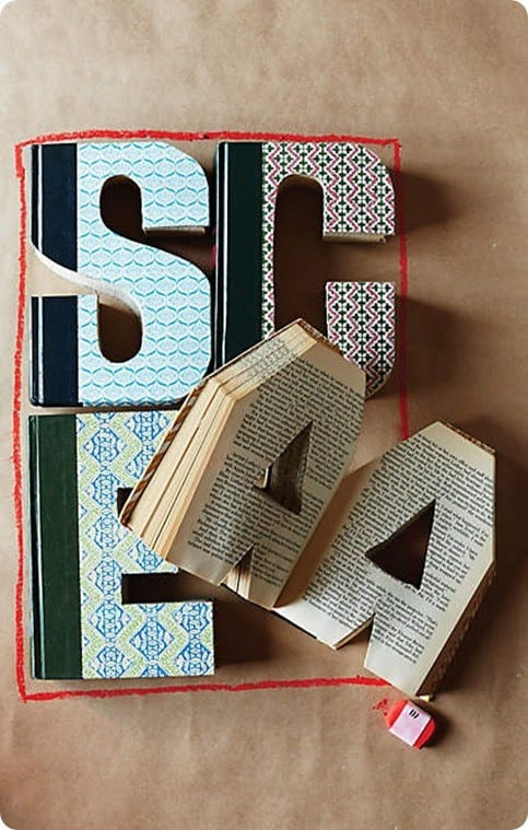 Anthropologie Library Letter