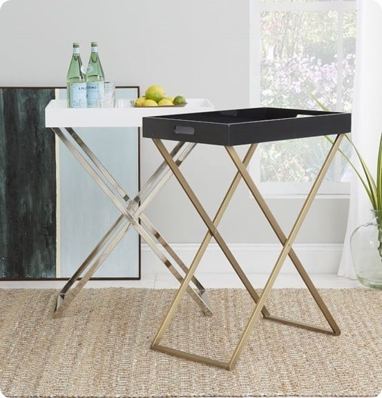 Butler Tray Stand from West Elm