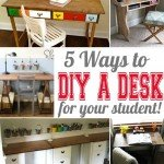 5 Ways to Build a Desk for Your Student