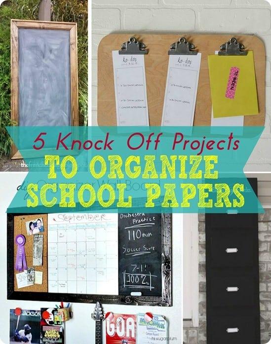 Organize School Papers