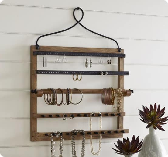 Pottery Barn Wall Mount Jewelry Hanger