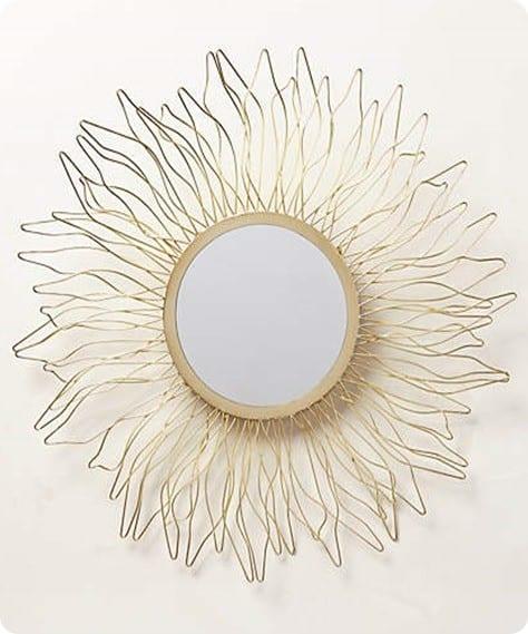 Queen Anne's Lace Mirror