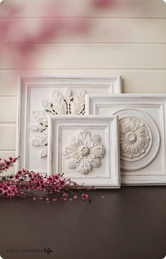Distressed Wood Wall Carvings Knockoffdecor Com