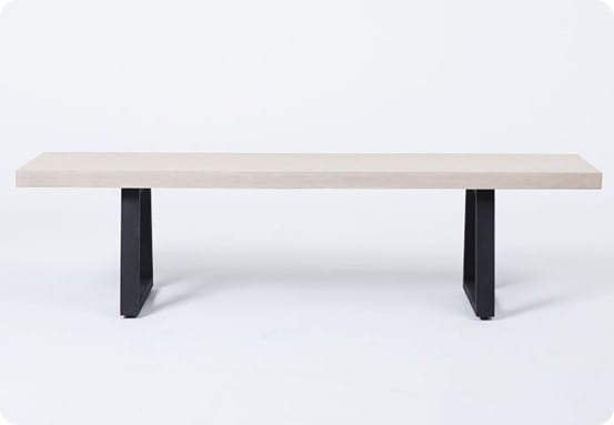 Slab Bench from West Elm