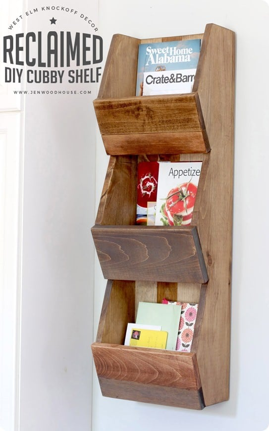 West Elm Knock Off Cubby Shelf