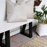 DIY Outdoor Bench for Under $15