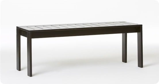 West Elm Wood Slat Bench