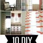 10 DIY Curtain Projects–Knock Off Style