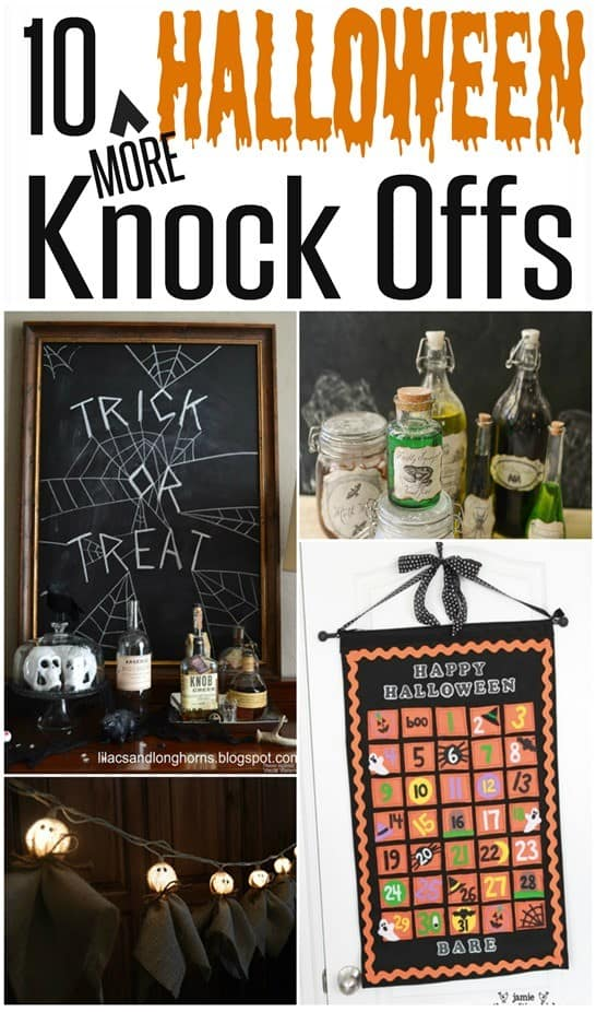 10 More Knock Offs For Halloween Knockoffdecor Com