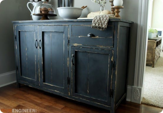 DIY Farmhouse Buffet