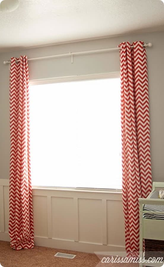DIY Home Decor | DIY Lined Curtains