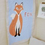 Painted Animal Banner for a Nursery