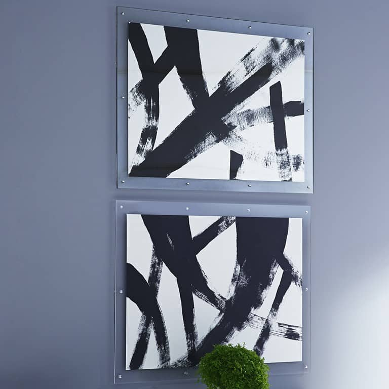Black And White Abstract Wall Art Knockoffdecor Com