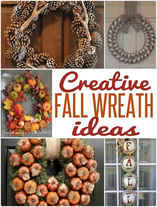Fall Wreath Collage