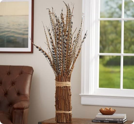 Feather Pheasant Bundle from Pottery Barn
