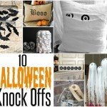 10 Knock Off Projects for Halloween