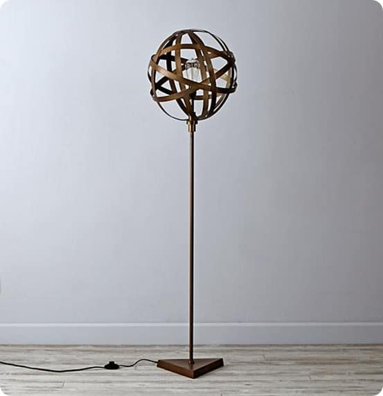 Land of Nod Orbital Floor Lamp