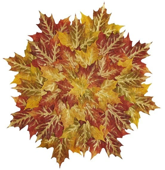 Layered Maple Leaves Fall Placemat