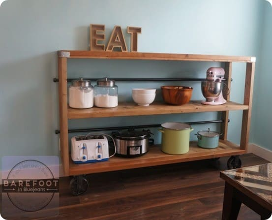 Wood And Metal Console Table Knockoffdecor Com